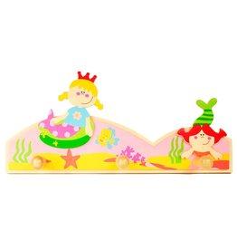 Simply for Kids Kapstokje zeemeerminnen
