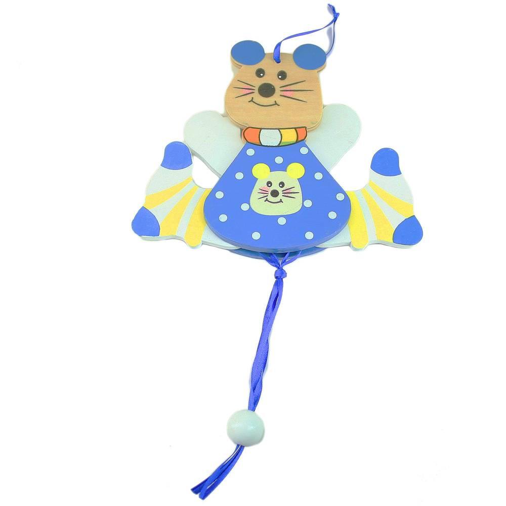 Trekpop vrolijke muis