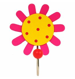 Simply for Kids Kapstok haakje bloem