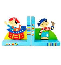 Simply for Kids Set boekensteunen piraat