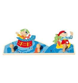 Simply for Kids Kapstokje piraat