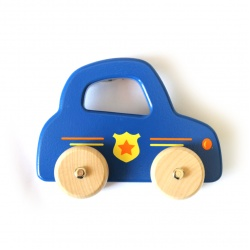 Jouéco Blauwe politie auto