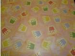 Kado papier roze met kroontjes