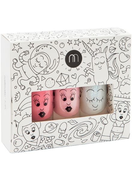 Nailmatic Kindernagellack 3er Set - Cosmos