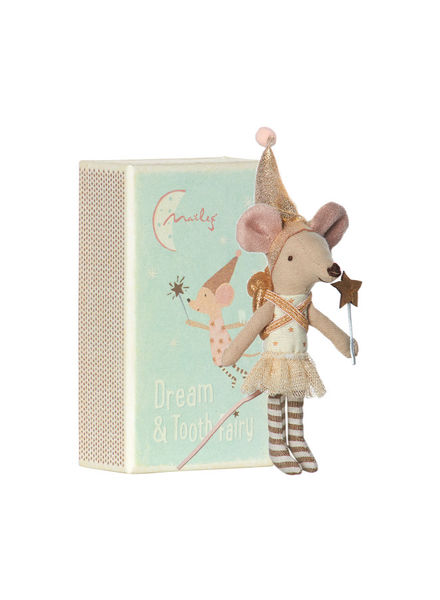 Maileg Mouse, Tooth Fairy in box, Girl