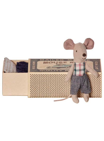 Maileg Mouse,  Brother In Box