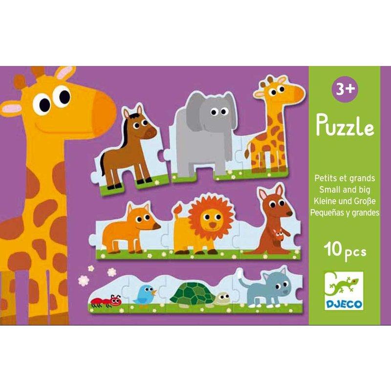 Djeco Puzzle - Small & Bigs
