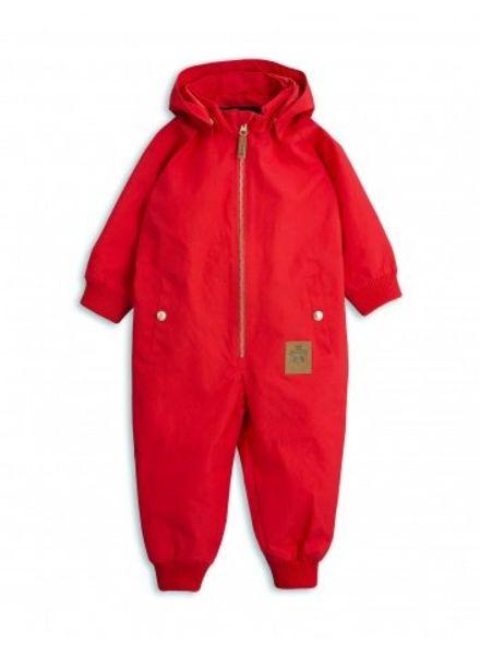 Mini Rodini Pico Overall - Red