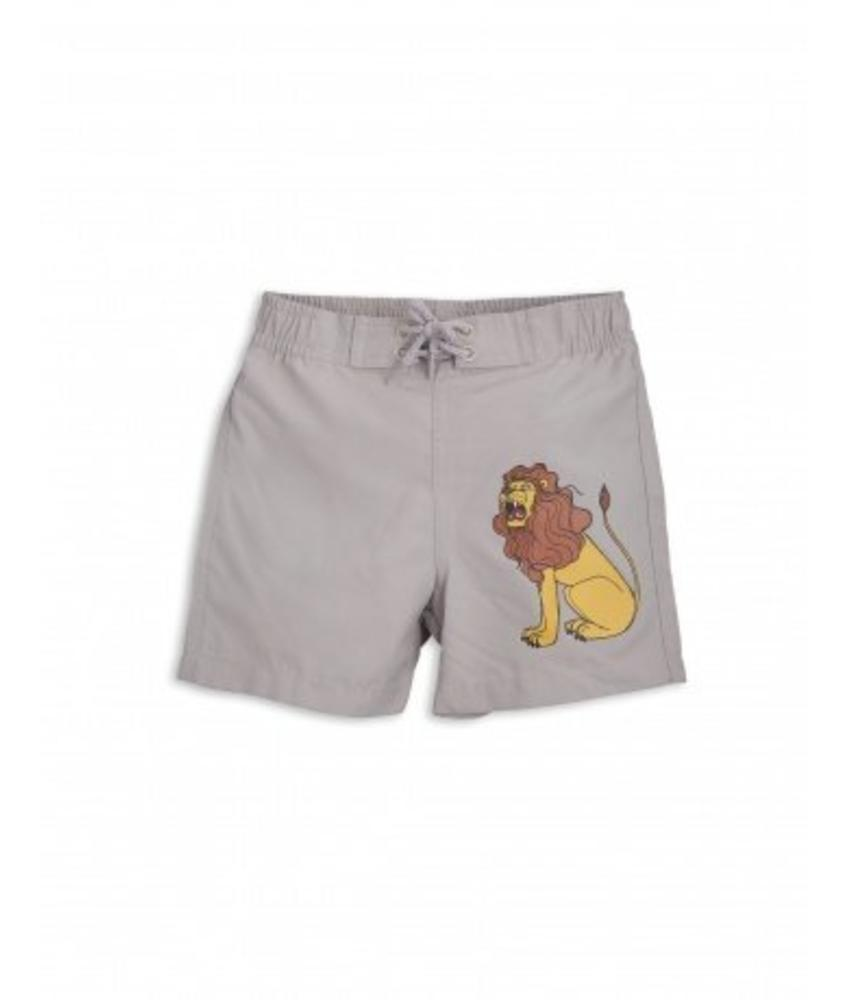 Mini Rodini LION SP SWIMSHORTS - Light Grey