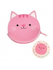 Dotcomgiftshop COOKIE THE CAT VINYL PURSE