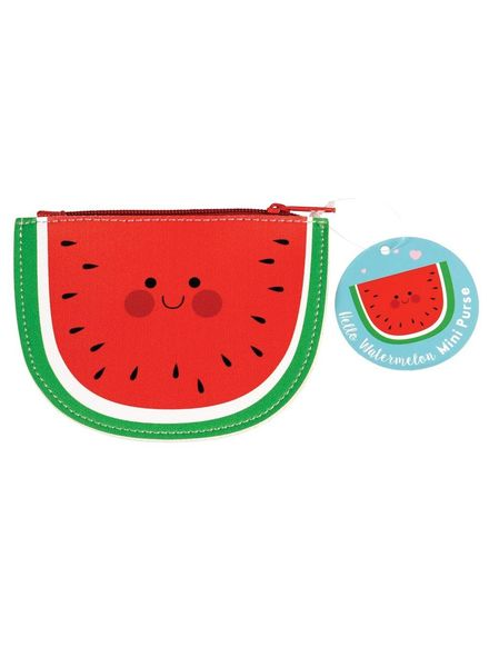 Dotcomgiftshop HELLO WATERMELON VINYL PURSE
