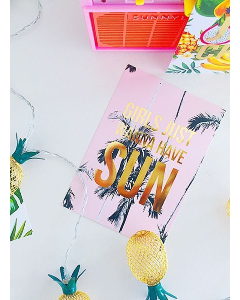 Studio Stationery Card Wanna have sun