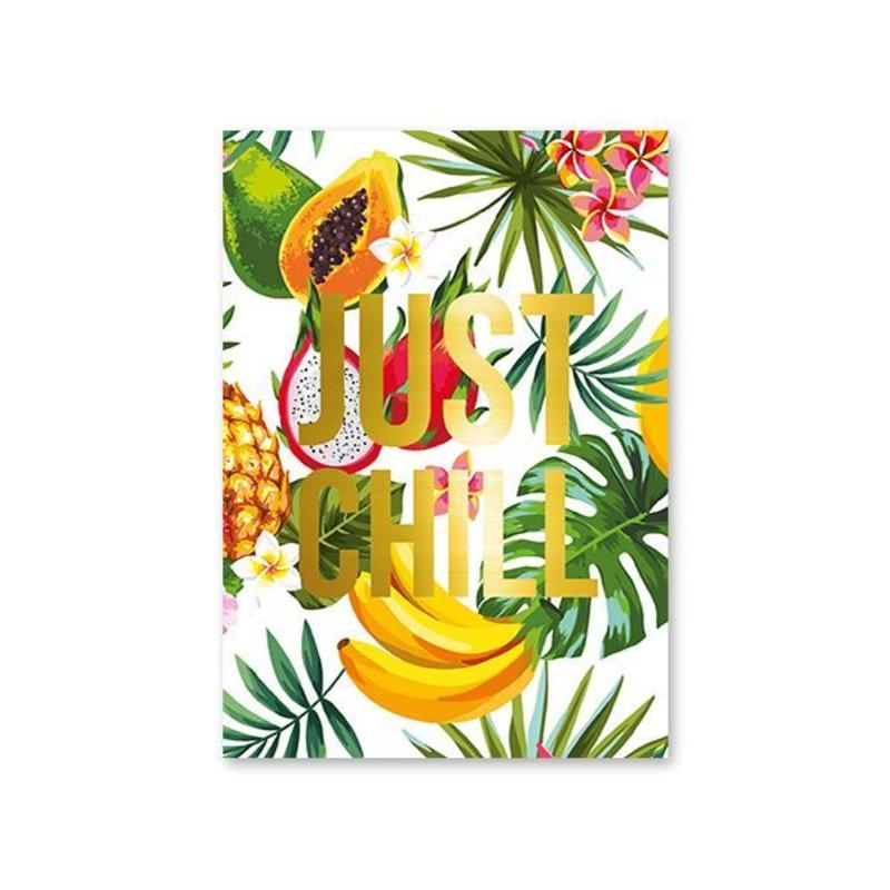 Studio Stationery Card Just Chill