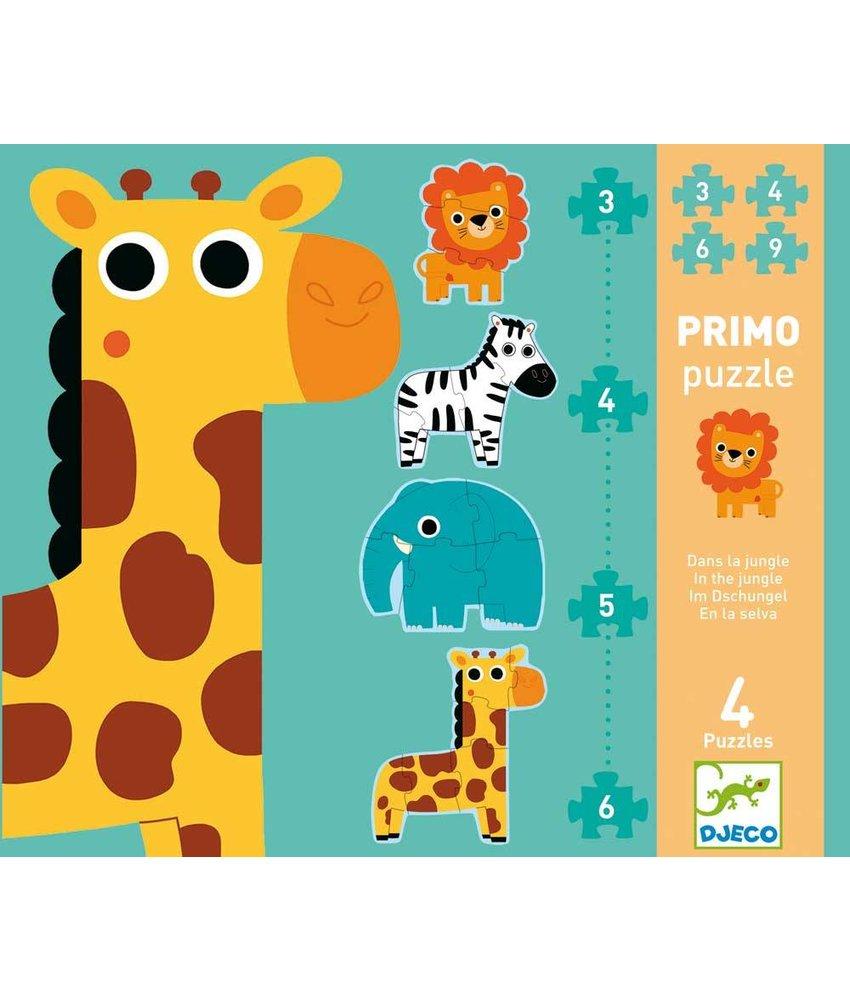Djeco Puzzle - In the jungle