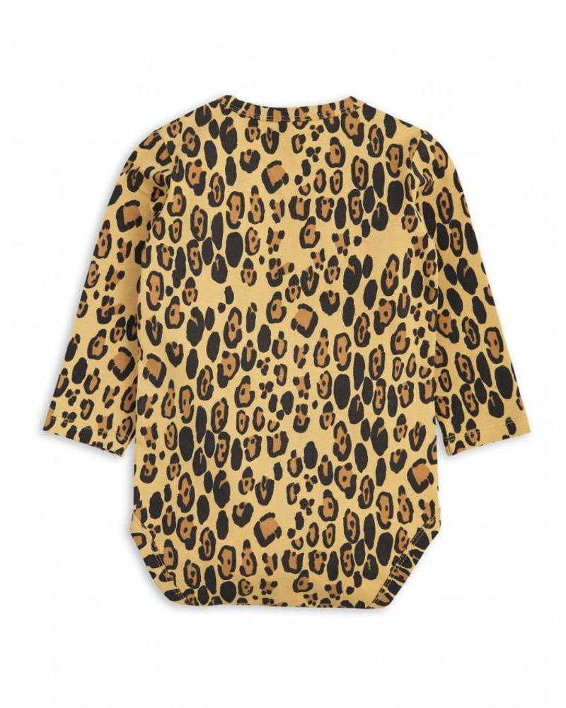 Mini Rodini Basic Leopard LS Body - Beige