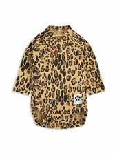 Mini Rodini Basic Leopard Wrap Body -  beige