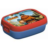 Lunchbox Wickie blauw/rood