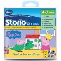 Storio boek: Peppa Pig Vtech: 4+ jr