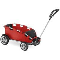 Bolderwagen Puky H25 Ceety zilver/rood