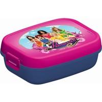 Lunchbox Prinsessia roze