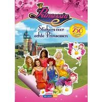 Prinsessia Stickerboek A4 kasteel