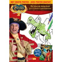 Kleurboek Piet Piraat A4 Dino