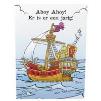 Wenskaart Piet Piraat