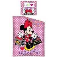 Dekbed Minnie Mouse shopping 140x200/70x90 cm