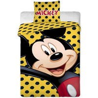 Dekbed Mickey Mouse dots 140x200/70x90 cm