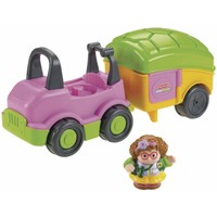 Auto en camper Little people