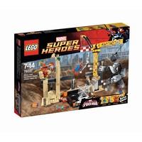 LEGO Superheroes 76037 Rhino en Sandman Superschurk samenwerking