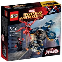 LEGO Superheroes 76036 Carnages Shield Luchtaanval