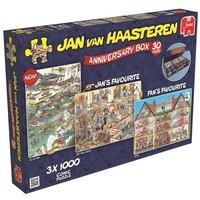Puzzel JvH: Anniversary 3x 1000 stukjes