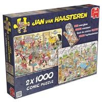 Puzzel JvH: Eet- en bakfestijn 2x 1000 stukjes