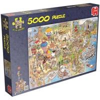 Puzzel JvH USA 5000 stukjes