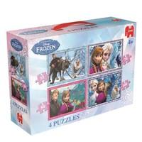 Puzzel Frozen 4 in 1: 35/50/70/100 stukjes
