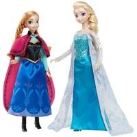 Poppen Frozen: Elsa en Anna giftset