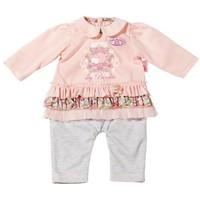 Kledingset op hanger Baby Annabell roze