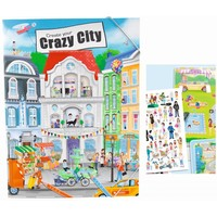 Create your Crazy City Top Model