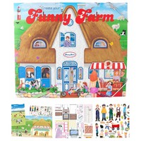 Create your Funny Farm drawing book Top Model