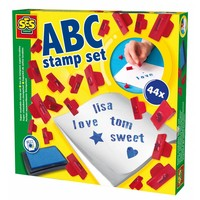 Super washable stempelset SES: ABC