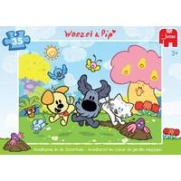 Puzzel Woezel en Pip: Avonturen 35 stukjes