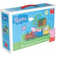 Puzzel Peppa Pig vloer 15 stukjes