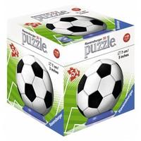 Puzzel Sport Balls 3d: voetbal 54 stukjes