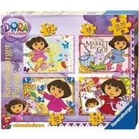 Puzzel Dora 12/16/20/24 stukjes