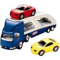 Big Car Carrier Little Tikes 4-pack
