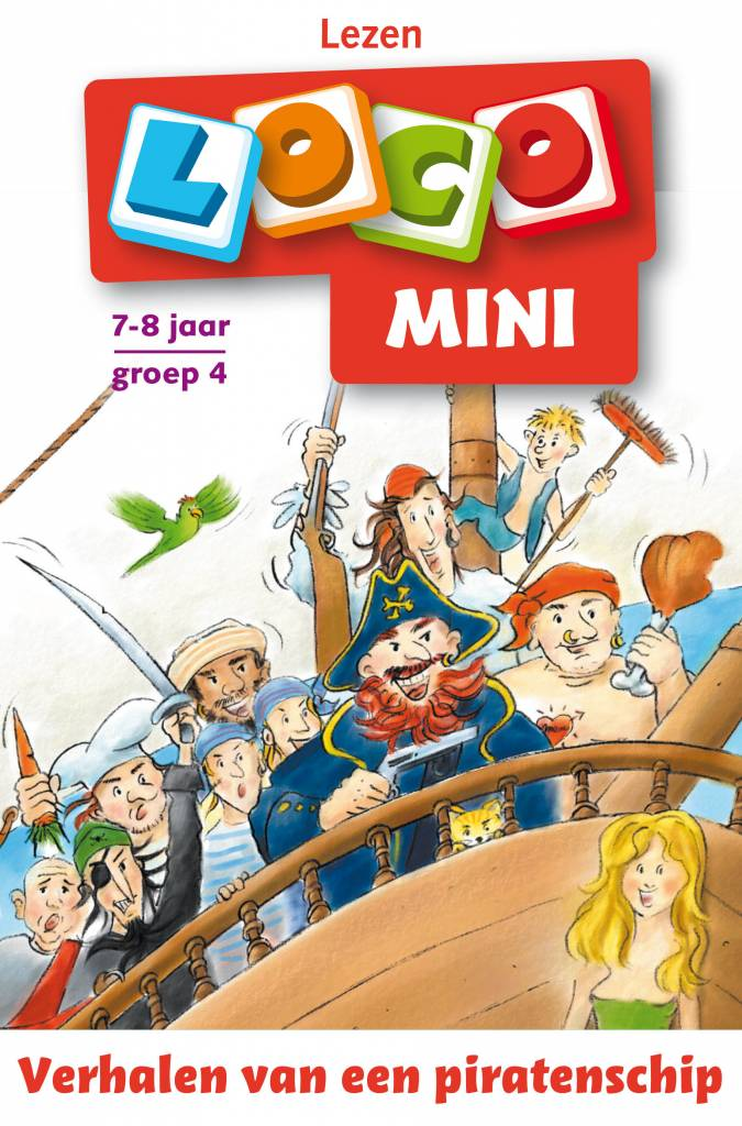 Mini Loco Verhalen Van Een Piratenschip