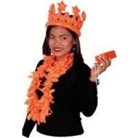 Kroontje holland oranje opblaasbaar
