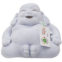 Pluche Huggy Buddha Junior Blauw