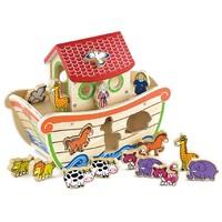 Vormensorteerder New Classic Toys Ark 34x17x26 cm